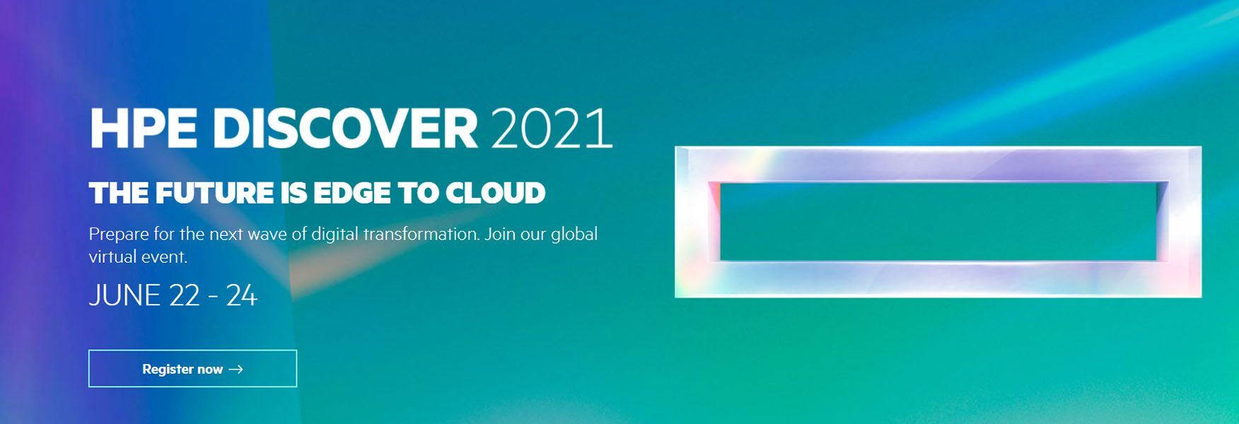 HPE Discover 2021
