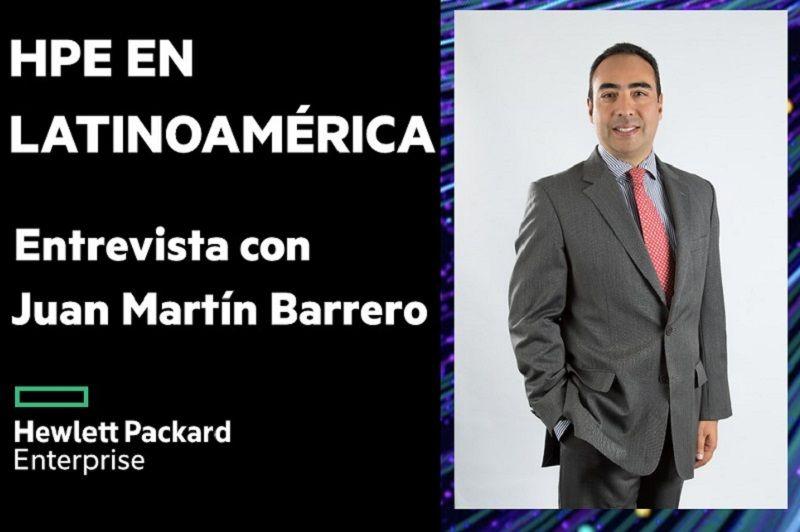 Juan Martin Barrero, HPE Colombia