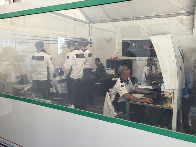DS Virgin Racing team reviews insights from performance at Formula E race in Long Beach, Calif.