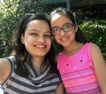 Mrinal and her daughter - Malvika