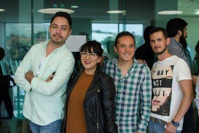 HPE Day one with Sales measurement Specialists (Mike Hernandez , Ari Briseño, Cesar Peralta, Carlos Villagran)