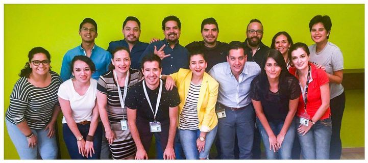 Sales Measurement Specialists team at HPE Mexico