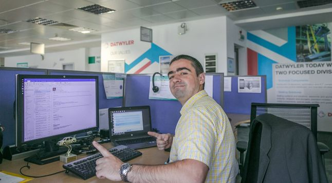 Yavor at his desk