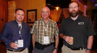 Socializing at the HPE Server Partner Ready Technology Tour