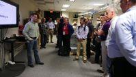 Lab tour at HPE Server Partner Ready Technology Tour
