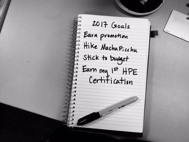 Add a HPE certification to your 2017 goals!