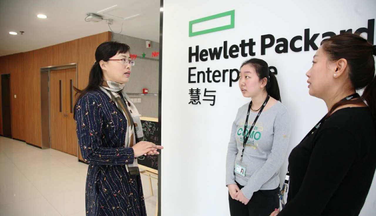 Emily Zou and participants from HPE Comet Project