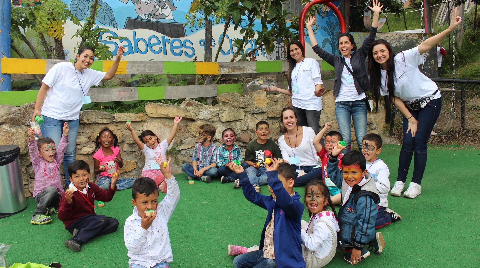 HPE Volunteering activity in Colombia.