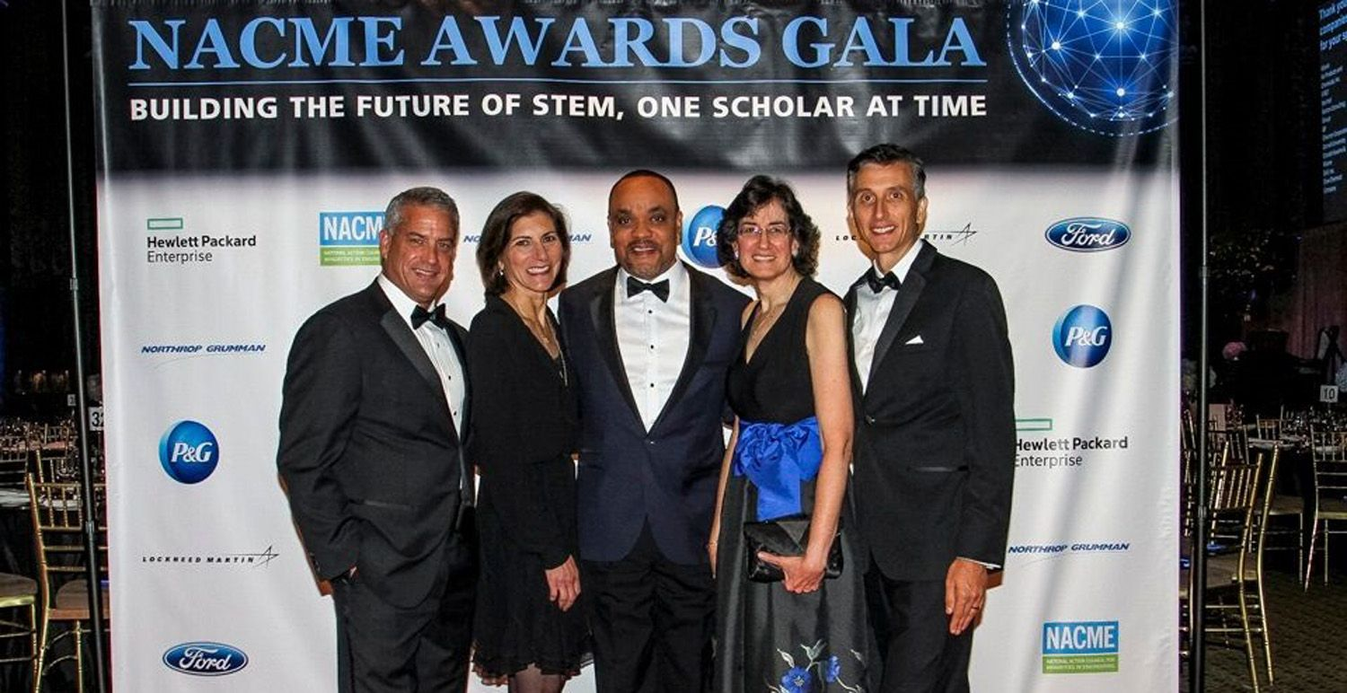 HPE leaders at the NACME Awards Gala