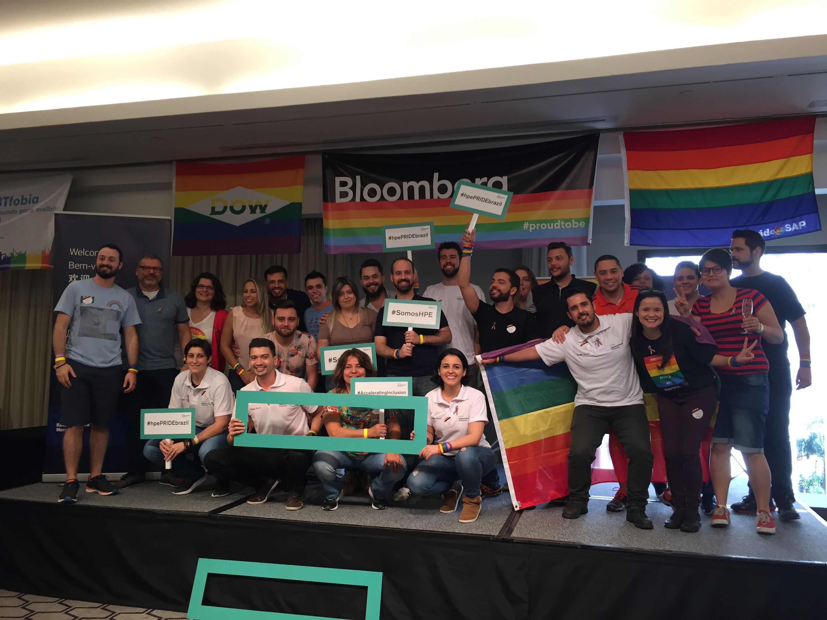 HPE PRIDE celebration in Brazil