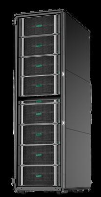 The unique modular architecture of HPE Superdome Flex: How