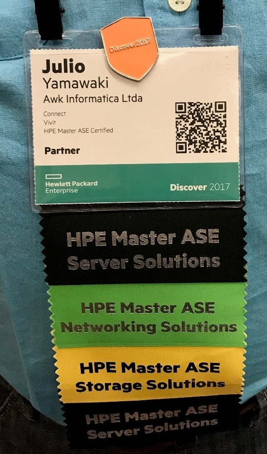 Experience Discover As An Hpe Master Ase Or Aruba Hewlett