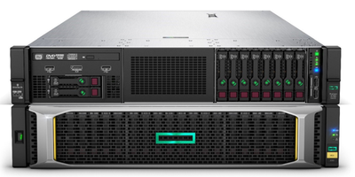 How HPE MSA 2052 SAN storage and HPE ProLiant DL560 servers