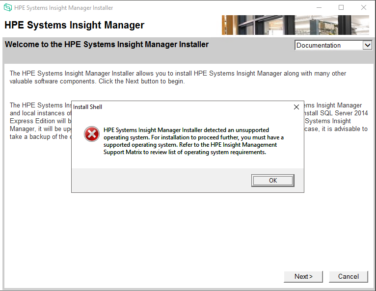 Server Management - Systems Insight Manager topics