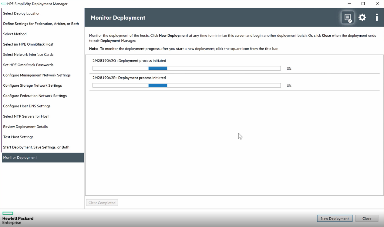 HPE SimpliVity 3.7.7 software enables parallel deployment and upgrades for hosts