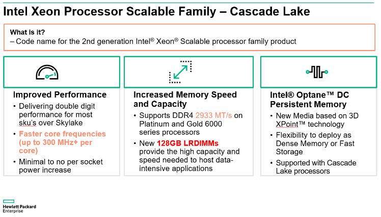 Intel® Cascade Lake Technology: A game-changer for SAP HANA