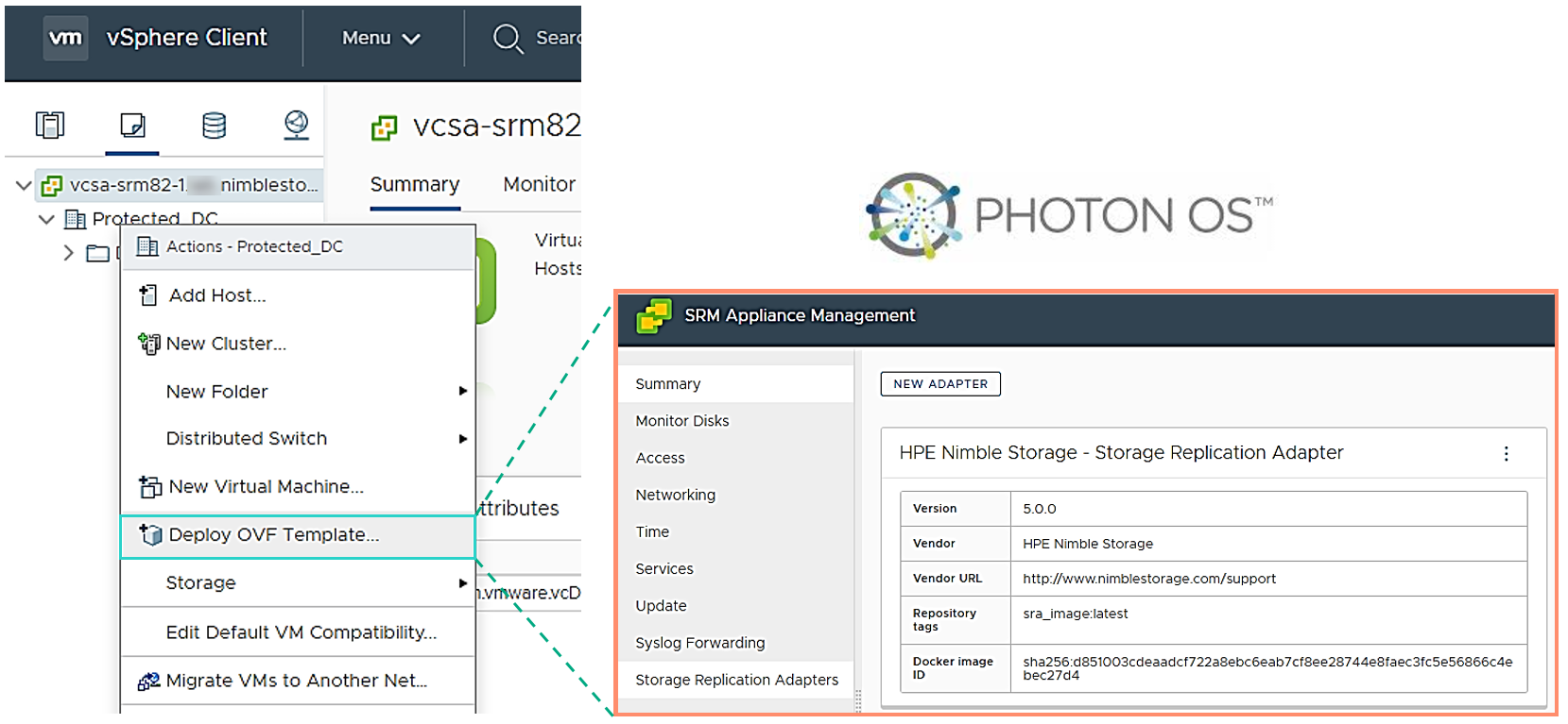 An introduction to VMware SRM 5 2 & HPE Nimble Storage SRA 5 0 0