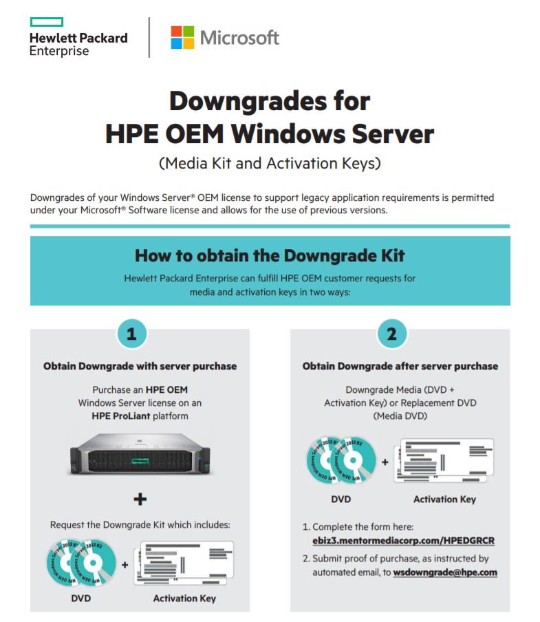 supported versions of windows server