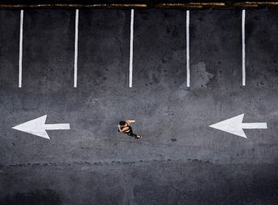 m running, arrows, B&W.jpg