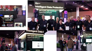 HPE at Commvault GO 2019