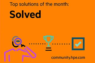 HPE Community - Top Solutions