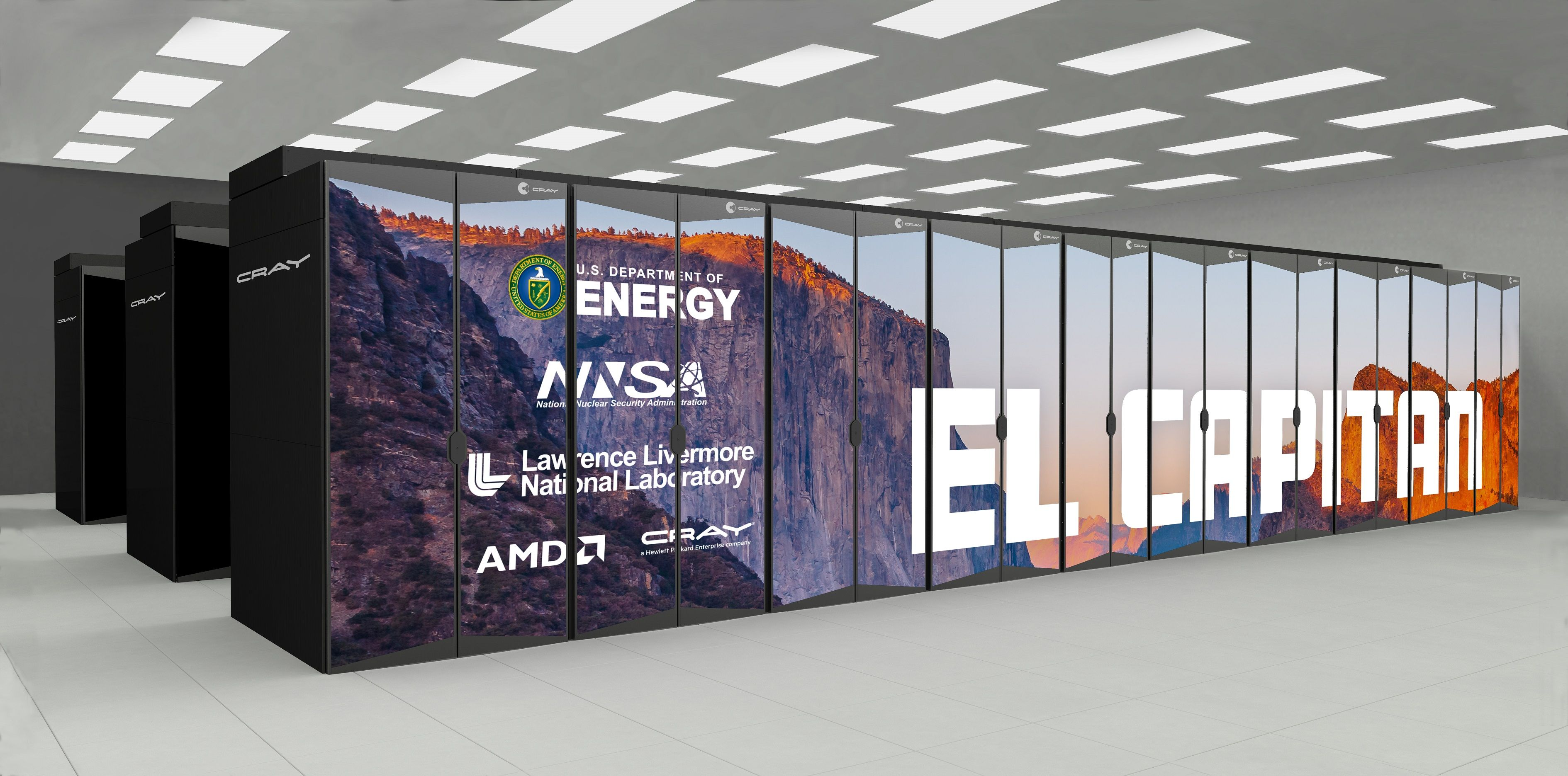 """""""El Capitan"""" rechnet zehn Mal schneller als der momentan schnellste Supercomputer der Welt."""