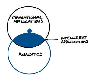 Figure 2. Embedding analytics into applications