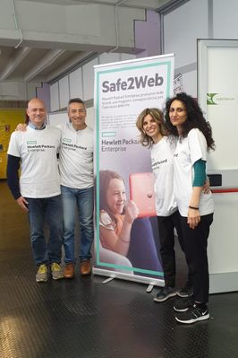 The Safe2Web initiative provided training to students, teachers and parents, on online bullying, sexting and grooming.