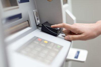 Banking, ATM machine