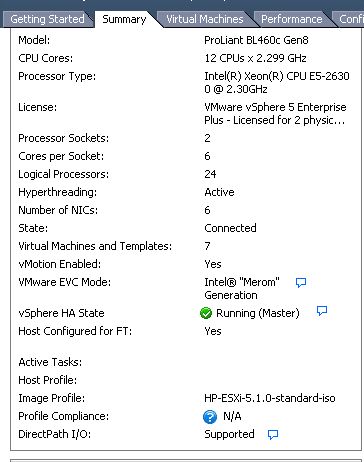 How to check if ESXi server is running HP's ESXi 5    - Hewlett