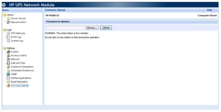 solved firmware update on hp ups network module hewlett packard enterprise community