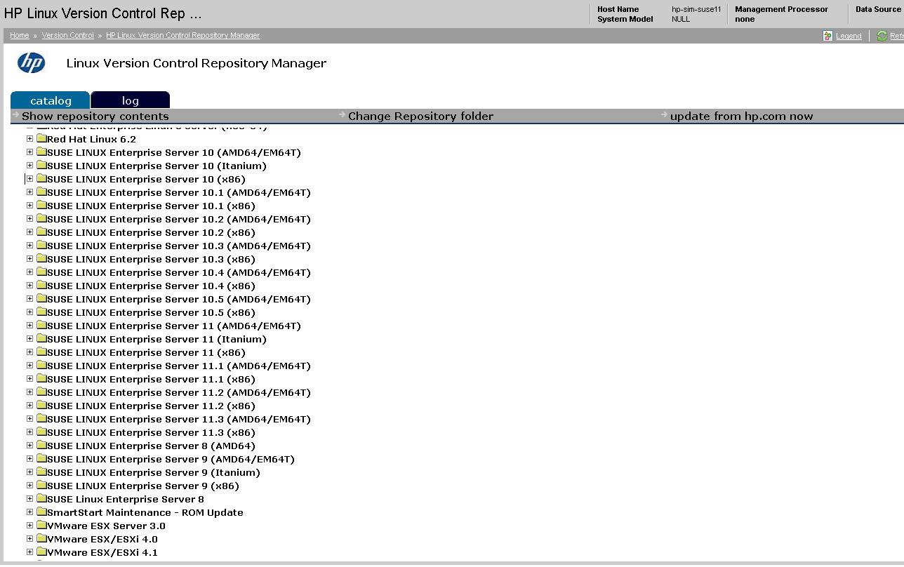 How to configure Version Control Repository Manage