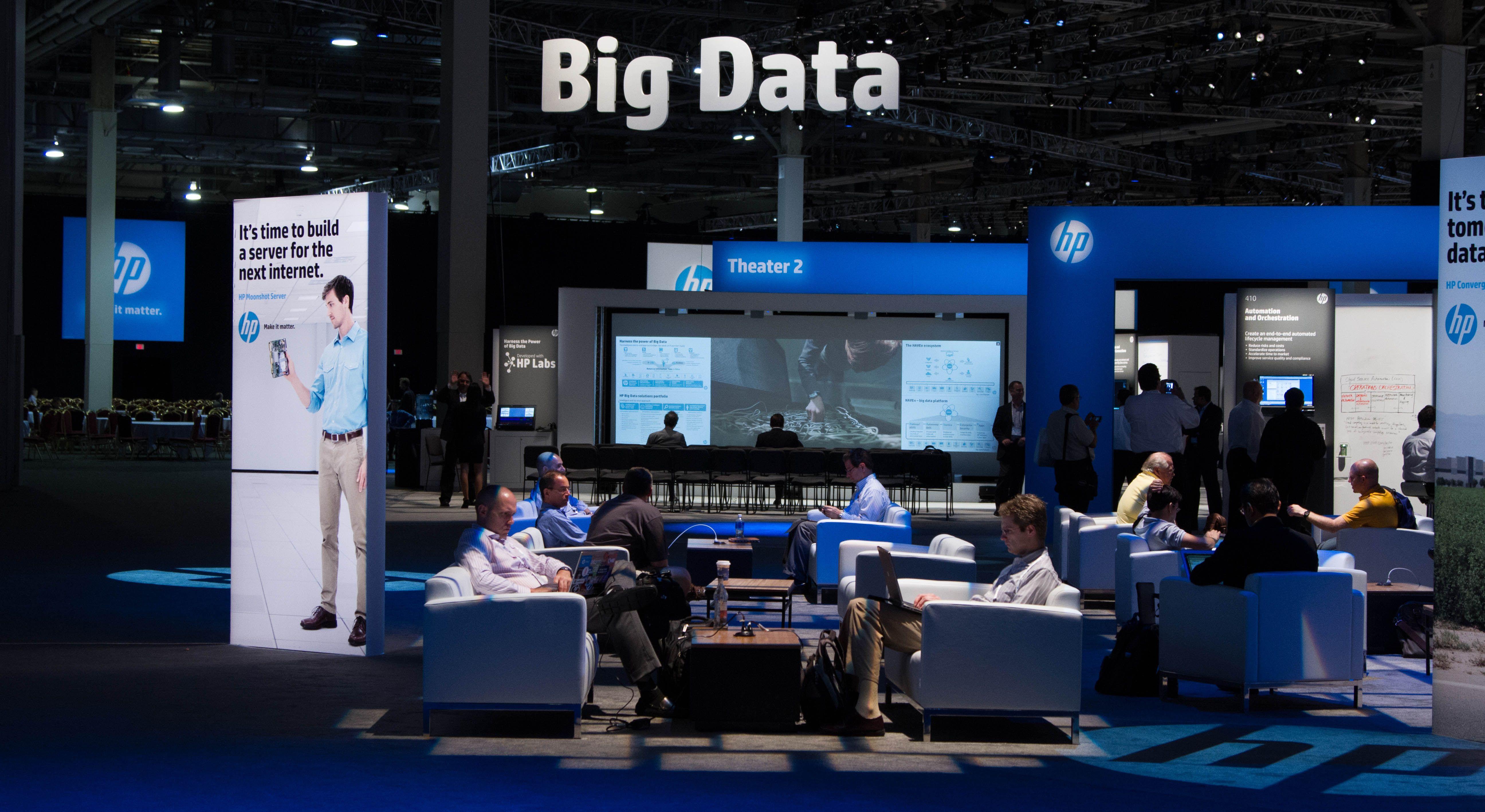 Big Data - HP Discover 2013 Las Vegas