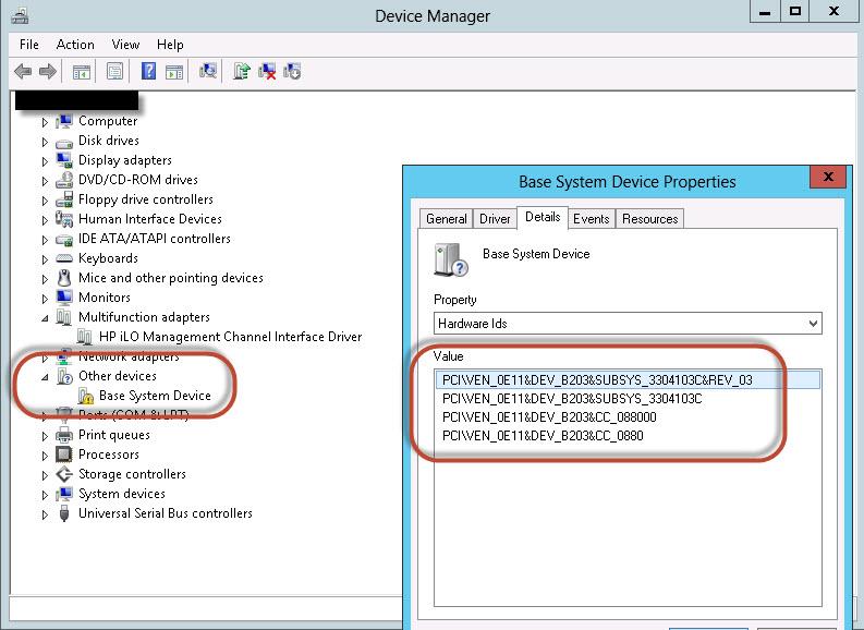 ProLiant ML570 G4 - Windows Server 2012 - Base Sys    - Hewlett