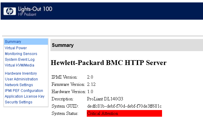 Solved: ILO Firmware update via command line with ipmitool