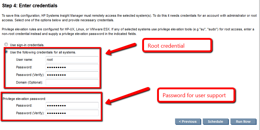 Solved: Adding a managed host with non-root user - Hewlett