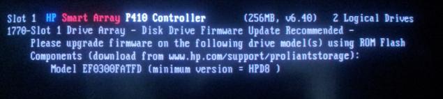 Hp Smart Array P410 Controller Firmware