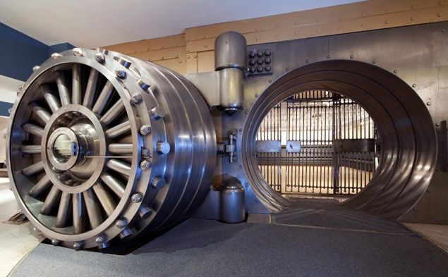 Secure your data in a lead lined vault