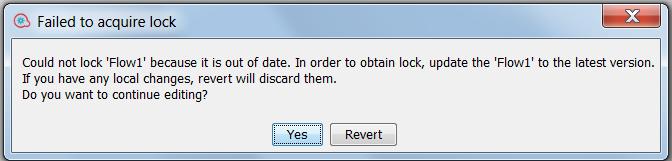 SCM error message