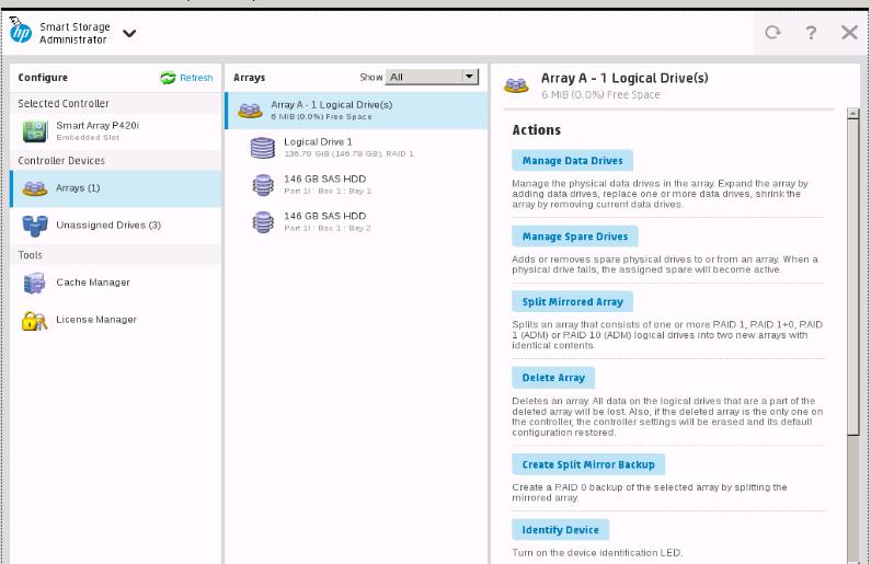 P420i SSA Online Raid Migration - Hewlett Packard Enterprise