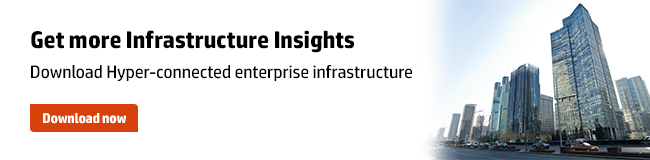 Best Practices: How IT megatrends impact infrastructure transformation