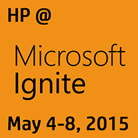 HP At Microsoft Ignite May 4-8