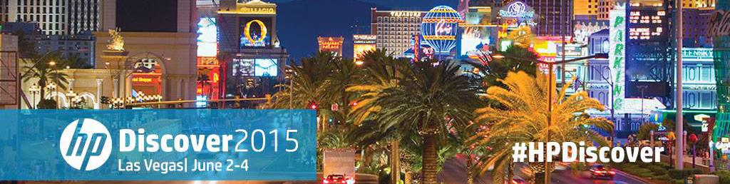 HP Discover 2015 Las Vegas