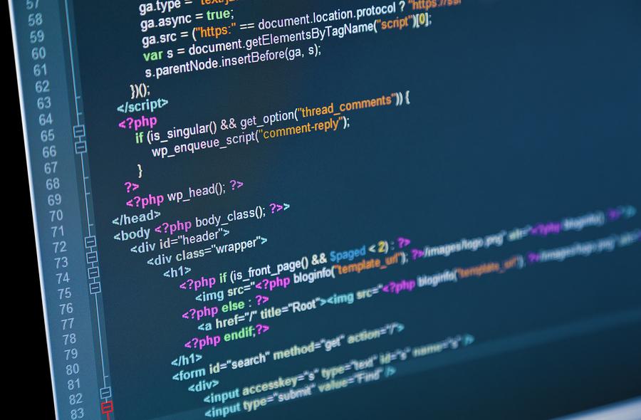 Enterprise software code