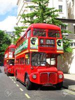 9396879-London-England-UK-June-7-2009-No-9-London-Routemaster-red-double-decker-buses-parked-up-at-a-bus-sta-Stock-Photo.jpg