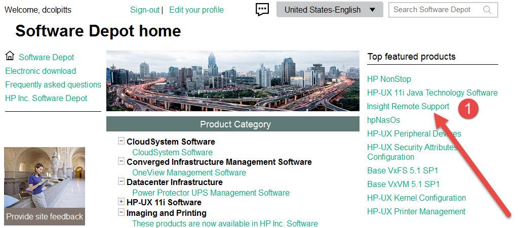 hp ups management software download
