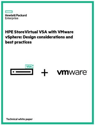 HPE StoreVirtual VSA and VMware best practices white paper.png