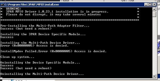3Par MPIO Driver for Windows 2003 - Hewlett Packard Enterprise Community