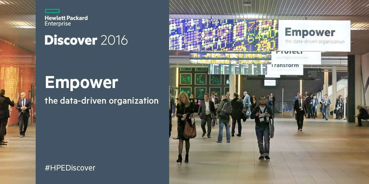 The Internet of Things (IoT) at HPE Discover 2016 Las Vegas
