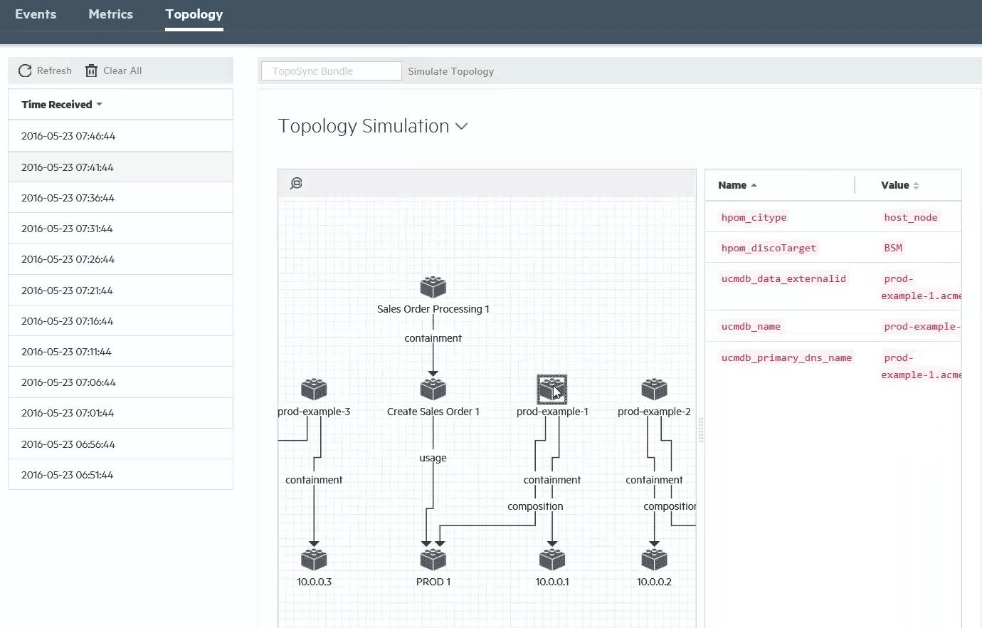 Sandbox mode - topology simulation